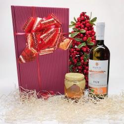 1 TUF Wine and Honey box